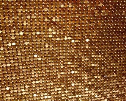 Coco Diy Quality Guarantee Metal Mesh Fabric Metallic Cloth Metal Sequin Sequined Fabric Curtain