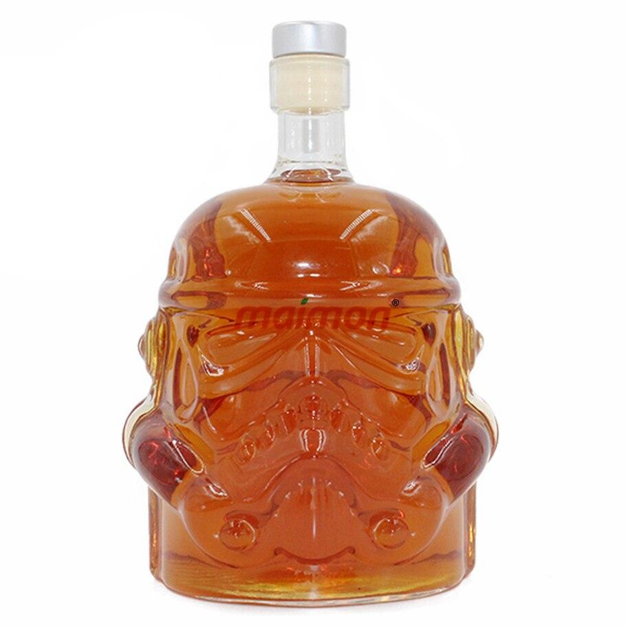 Cool Star Wars Stormtrooper Helmet Whiskey Decanter Crystal Glass Wine Decanter Bottle Magic Aerator Wine Glasses Accessories