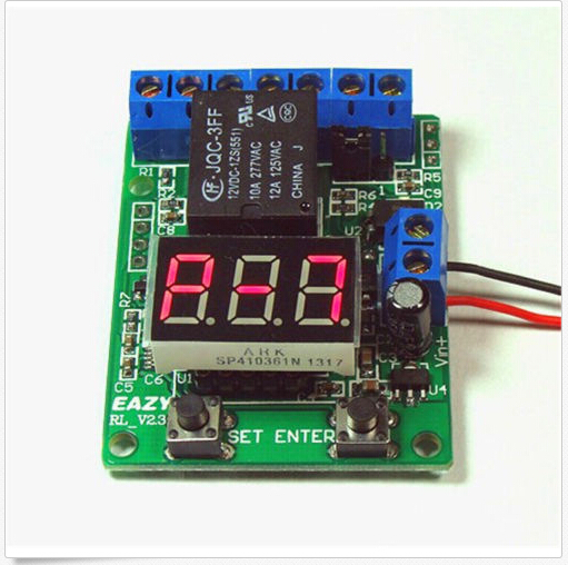 Voltage control relay/timer/delay switch overvoltage/under voltage protection smart 30s timer delay switch us