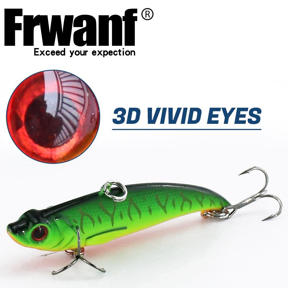 Frwanf 6 τεμάχια / παρτίδα 7.4 εκατοστά 13.5 - Αλιεία - Φωτογραφία 3