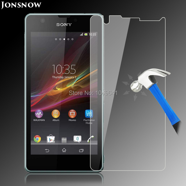Jonsnow Tempered Glass Film for Sony Xperia ZR M36H C5502 C5503 Explosion-proof LCD Screen Protector pelicula de vidro