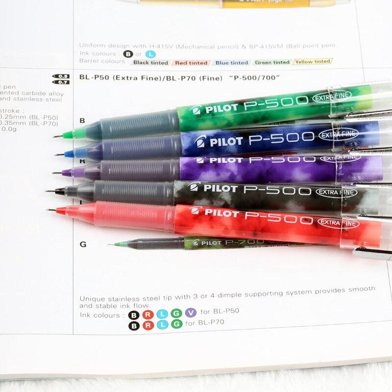 Japon stylo à bille roulante Gel 0.5mm/0.7mm fournitures scolaires de bureau papeleria papeterie stylo à encre motif BL-P50/P70 P500/P700