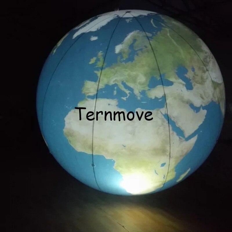 Terre gonflable, grands globes gonflables du monde à vendre globe gonflable livraison gratuite éducation géographique publicité jouet