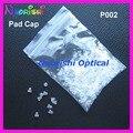10000 unids lente de los vidrios gafas almohadillas de plástico Caps cubiertas Accssories tamaño del agujero 1.4 mm 1.2 mm P002 envío gratis