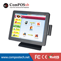 15 polegada All-in-one Touchscreen resistiva Touch terminal POS/Restaurante Sistema POS