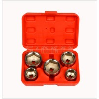 5Pc Oil Filter Socket Set Removal Tool 3 8 Drive 24 27 32 36 38MM