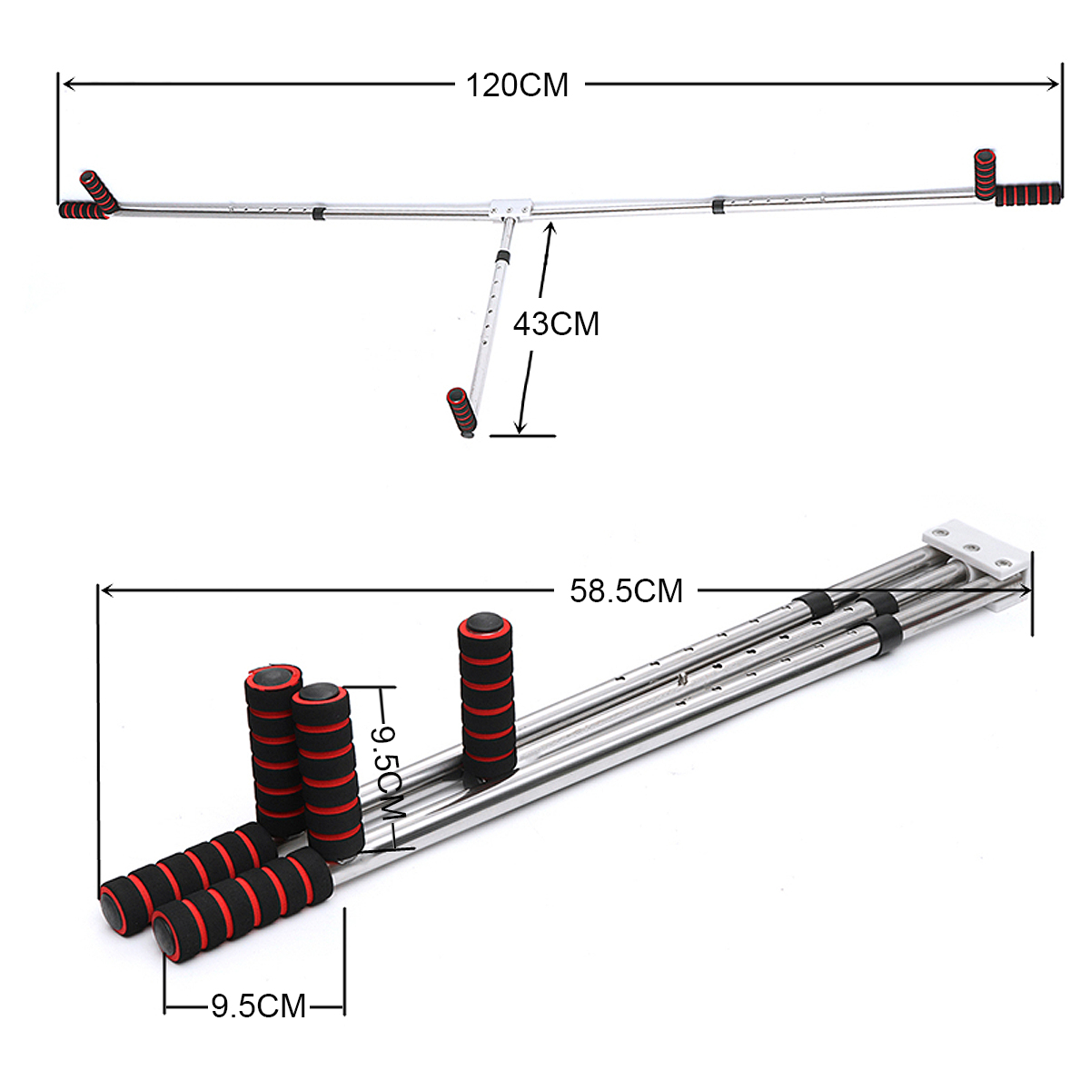 Dispositif d'entraînement universel de flexibilité de machine d'extension de jambe fendu appareil de civière de ligament de jambe d'exercice physique - 3