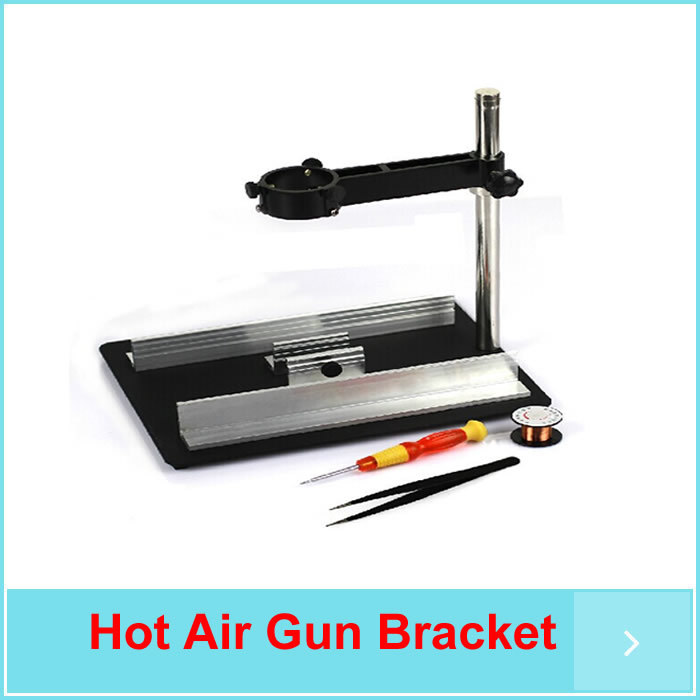 ФОТО YIHUA-628 Soldering Station, Hot Air Gun Bracket And Circuit Board Fix Bracket, free shipping