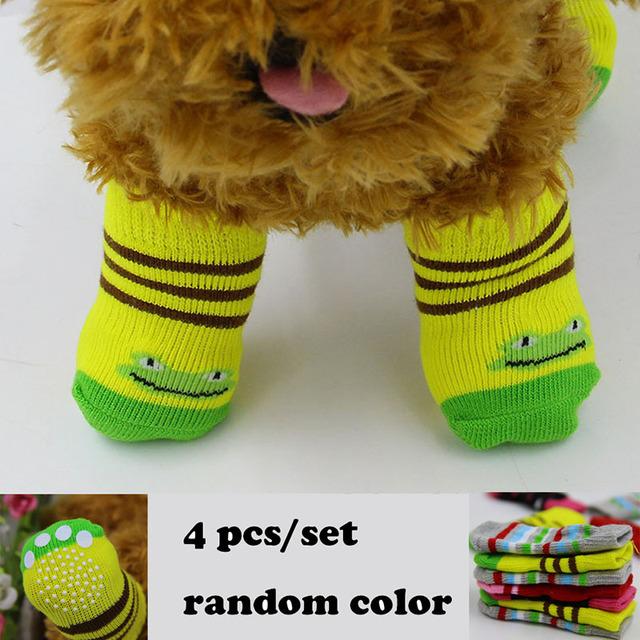 Pet Dog Socks Warm Antiskid