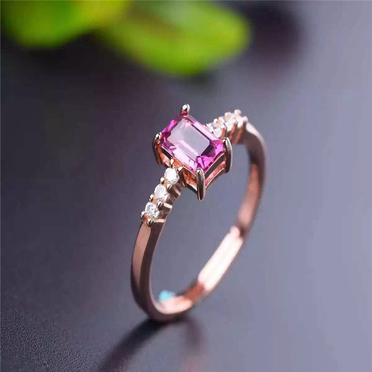 KJJEAXCMY boutique jewels S925 sterling silver inlaid with natural tourmaline, oblong jewelry, gold and silver jewelry.KJJEAXCMY boutique jewels S925 sterling silver inlaid with natural tourmaline, oblong jewelry, gold and silver jewelry.