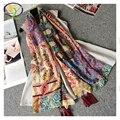 1 UNID 180*100 CM 2016 Nuevo Diseño de Acrílico de La Moda de Algodón Mujeres Largas Borlas Bufanda Delgada Mujer Nueva Viscosa Pashminas Chales