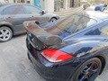 Ajuste para Porsche Cayman 987 GT Techart alerón trasero de fibra de carbono alerón trasero