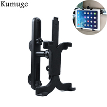 Universal Tablet Car Holder for iPad 9.7 2018 Pro 10.5 Air 2/1 Mini Back Seat Holder Stand Headrest for Samsung Xiaomi Mount floveme tablet headrest bracket car back holder mount stand holder capa for ipad mini 2 3 4 air pro xiaomi chuwi lenovo pad case