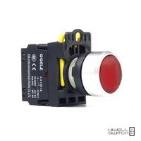 5 PCS Push button switch Flush button LED Momentary IP65 1NO 1NC 1NO+1NC 2NO 2NC LA115-A2-11D-G28