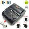 IMP006 ventas Calientes Móvil Mini Portable Impresora Térmica de Recibos Pos Impresoras Bluetooth 4.0 para android iOS sistema de Doble