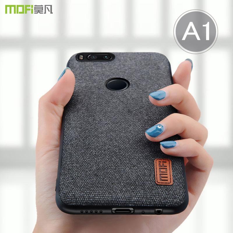 Per la copertura della cassa MOFI per mi Xiaomi Mi A1 5X Posteriore Completa Caso della copertura MiA1 Tpu Cover In Silicone per xiaomi mi5x business Case