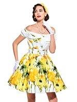 Sisjuly Women Yellow Summer Dress Slash Pullover Dress Yellow Short Lantern Sleeve Female Knee Length Girls