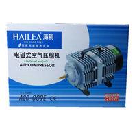 140L Min Hailea ACO 009E Electromagnetic Air Pump 160W Air Compressor Septic Fish Tank Aquarium Tank