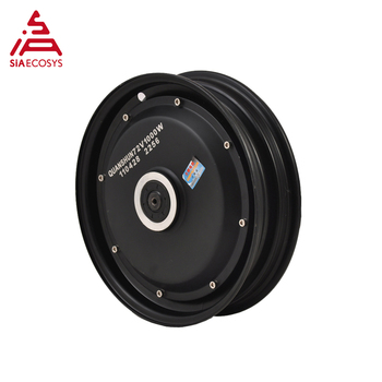 QS 10inch 1000W 205 40H V2 72V 50kph DC Electric Brushless Hub Motor for electric scooter