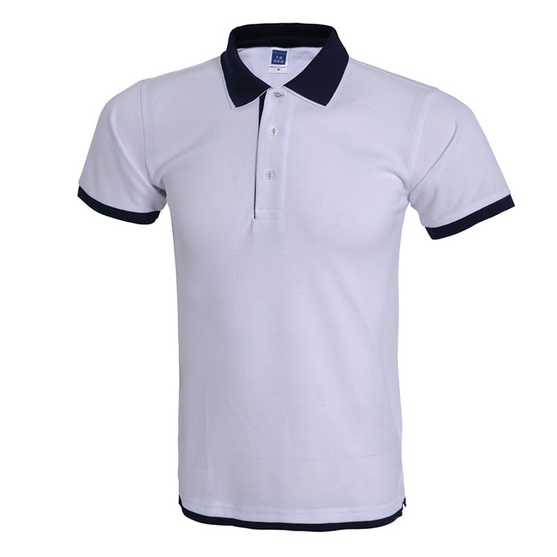 Cool Polo Shirt Men Polo Homme Brand Design Double Collar Solid Color Polo  Shirts Summer Style Short Sleeve Mens Polos 3xl-in Polo from Men s Clothing  on ... e546f7fa7709