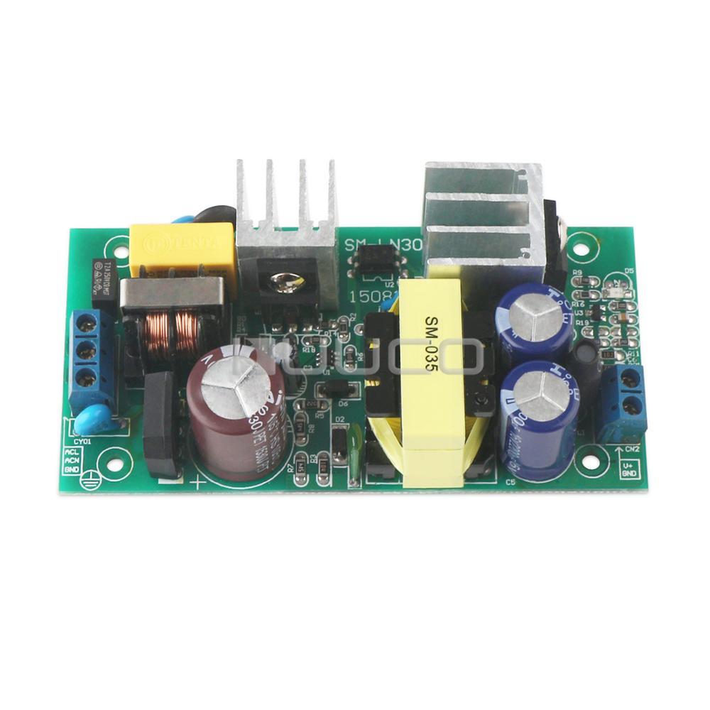 5 PCS/LOT DC 12V Adapter/Driver Module AC 90V~240 110V 220V to DC 12V 3.5A Switching Power Supply 36W AC to DC Power Converter switching power supply adapter ac 90v 240v to dc 5v 300ma 1 5w buck converter voltage regulator driver module