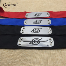 Naruto Black Blue Red Leaf Village Headband (2 Types)