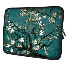 Flowers Laptop Bag Computer Zipper Sleeve Case + Handle Notebook Case For 11.6 1