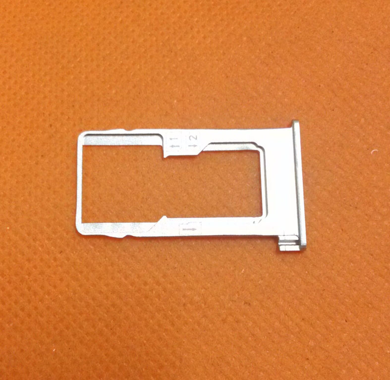 Used Original Sim Card Holder Tray Card Slot for Doogee F5 4G LTE 5.5inch MTK6753 Octa Core FHD 1920x1080 Free Shipping