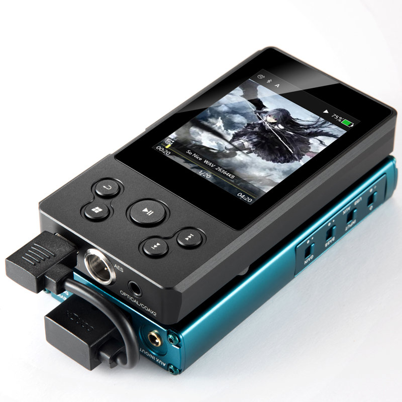 2018 Newest XDUOO X10T II Portable High Resolution Lossless DSD Music Player DAP Support Optical Output MP3 Player