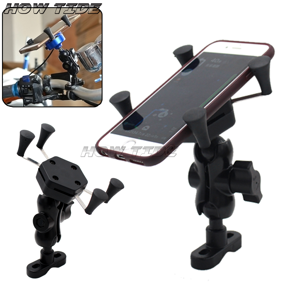For <font><b>Bajaj</b></font> <font><b>Pulsar</b></font> <font><b>200</b></font> <font><b>NS</b></font> 2012 2013 2014 High Quality Motorcycle GPS Navigation Frame Mobile Phone Mount Bracket image