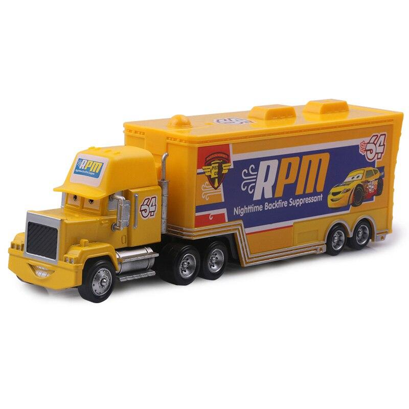 Дисней Pixar Тачки 2 3 игрушки Молния Маккуин Джексон шторм мак грузовик 1:55 литая модель автомобиля игрушка детский подарок на день рождения - Цвет: No.64