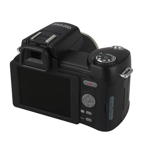 POLO D7200 Digital Camera 33MP Auto Focus Professional DSLR Camera Telephoto Lens Wide Angle Lens Appareil Photo Bag Tripod Multan