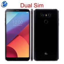 Разблокированный мобильный телефон LG G6 с двумя sim-картами H870DS Android, 4 Гб ОЗУ, 64 Гб ПЗУ, 4G LTE, 5,7 дюйма, МП, отпечаток пальца, мобильный смартфон
