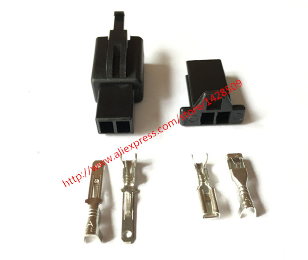 aliexpress com buy 10 set pa66 2 pin male female wire harness 10 set pa66 2 pin male female wire harness motorcycle abs automotive cable connector 6030
