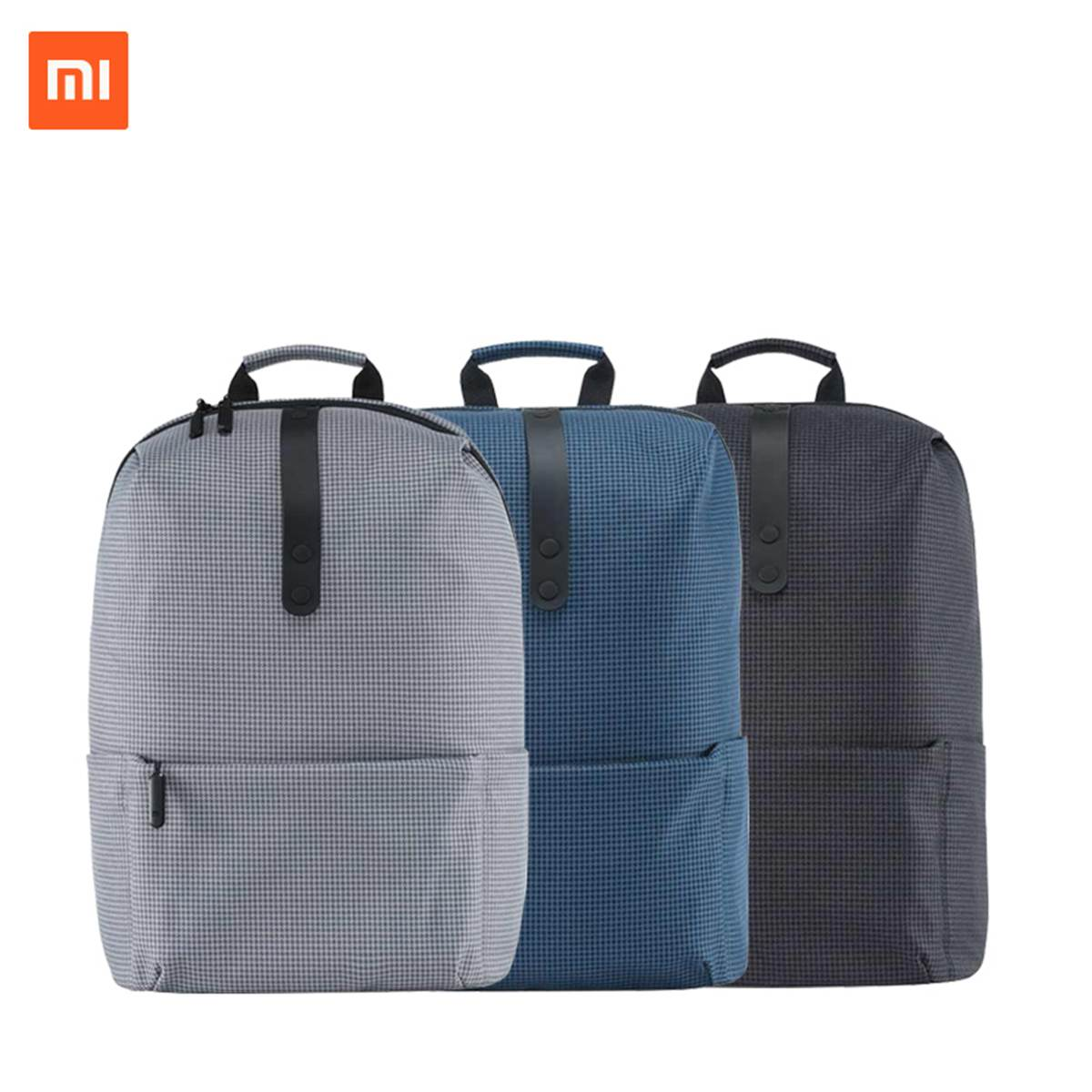 Xiaomi Fashion Backpack 15.6 <font><b>Inch</b></font> 20L College Style School <font><b>Bag</b></font> <font><b>Laptop</b></font> Computer Backpack for Women Men Boy Girl image
