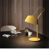 Nordic Personality Multicolor Macaron LED Table Lamp Designer Living Room Office Study Meeting Room Hotel Bed Lamp Free Shipping