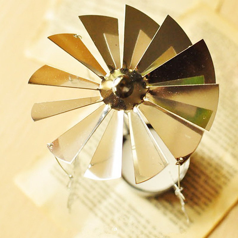 Holiday gift Candle Holders Revolving Door Windmill Rotation ...