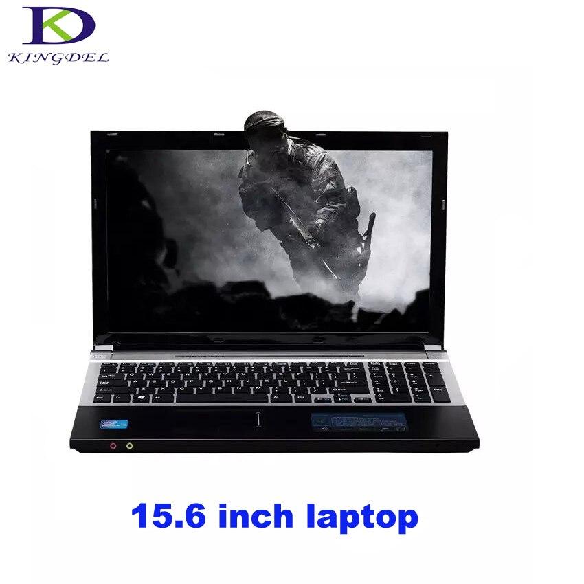 15 6 Inch Celeron J1900 Quad Core Home Computer windows 7 8 laptop Computer Intel HD