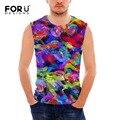 Forudesigns mens chalecos fresco diseño de la venta caliente rayada hombres tank tops chaleco de los hombres respirables de fitness camisetas de entrenamiento crossfit para hombres