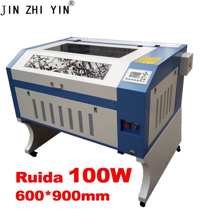 JINZHIYIN 100w Co2 Laser 6090 Laser Engraving Machine Laser Marking Machine 220V / 110V Laser Cutting Machine Cnc Router
