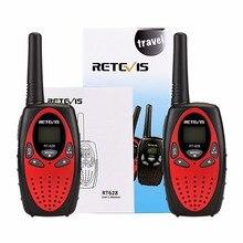 2 unids Retevis RT628 Niños Walkie Talkie Radio Mini 8CH 0.5 W UHF 446 MHZ Niños Juguete de Radio cb Portátil comunicador A1026