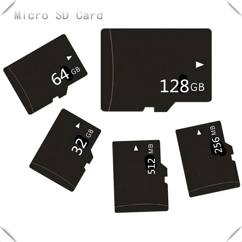 High Speed!!! 128GB Micro SDXC SD Card C10 64GB 32GB 16GB 8GB 32MB-4GB Micro TF CARD Memory Card TransFlash Card