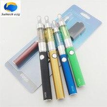 Electronic Cigarette Evod T3d blister kit 650/900/1100mah battery with 2.4ml T3d atomizer e cigarette evod starter blister kit