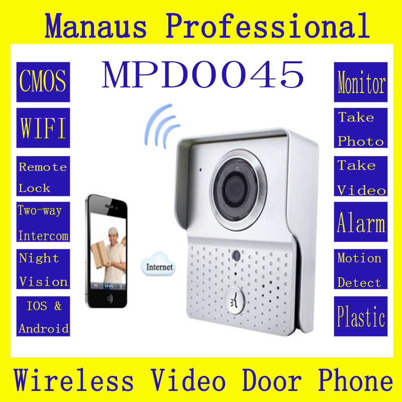High Quality Wireless Magnetic Door Lock With Camera WIFI Video Door Phone System Home Improvement Visual Door Bell D45C