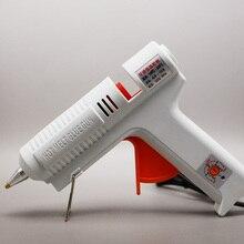 Новое Прибытие 220 В 40-150 Вт Термоклей Пистолет Температура Регулируемая Ремкомплект Инструменты Оптом