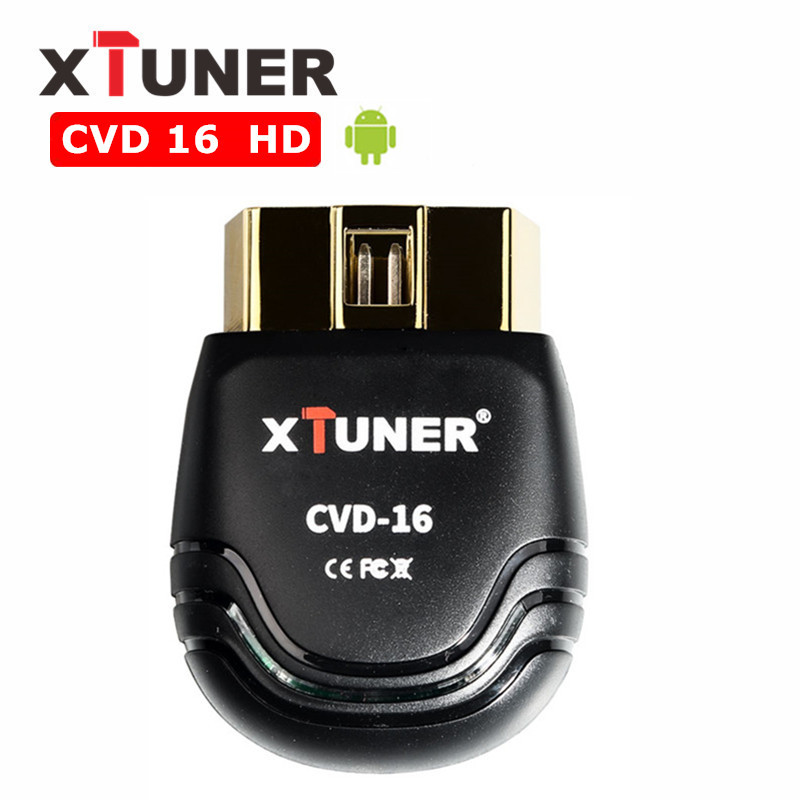 2018 XTUNER CVD 16 Heavy Duty Truck Diagnostic Tool Support Android System цены онлайн