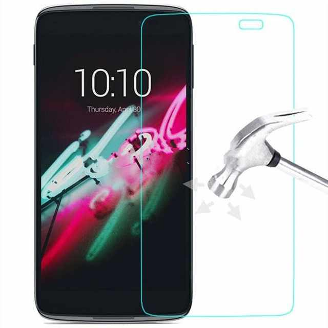 "Tempered Glass Premium Screen Protector For Alcatel One Touch Pop 3 5025D 5.5"" 5015D 5.0"" Pop4 4S 4+ PLUS Idol 3 6039 6045 Pixi4"