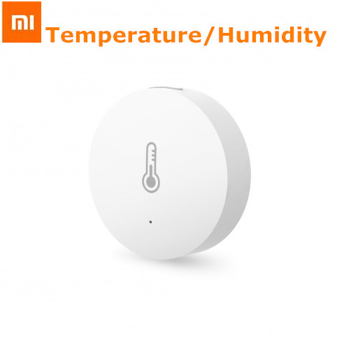 Original Xiaomi Intelligent Mini Temperatur Fuktighetssensor Fickstorlek Smart Home Automatic för Smart Home Suite