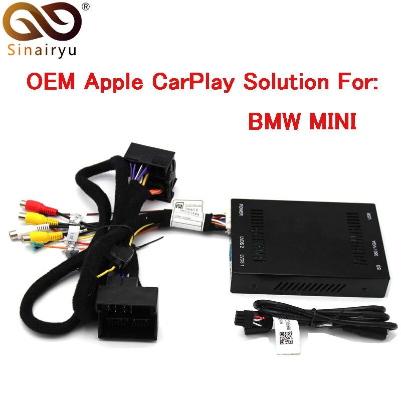 Sinairyu Aftermarket MINI Cooper OEM Apple CarPlay Box