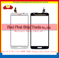 "10Pcs/lot High Quality 5.5"" For LG G Pro Lite D680 D682 Single Sim Touch Screen Digitizer Sensor Glass Lens Panel Black White"